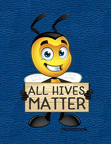 Earthbound Sketchbook - All Hives Matter Notebook: Journal, Diary Or Sketchbook With Wide Ruled Paper