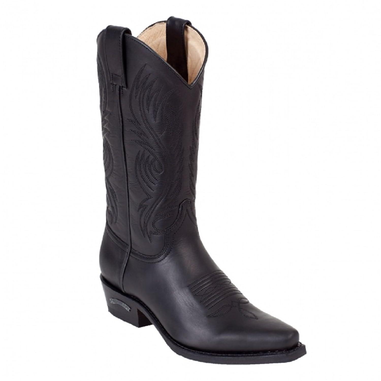Sendra Boots 2605MO schwarz * incl. original MOSQUITO reg Stiefelknecht *