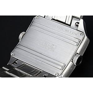 ZERO HALLIBURTON watch dual time Date ZW004S-02 Men's
