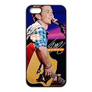 CTSLR Scotty Mccreery Hard Skin for For SamSung Galaxy S4 Phone Case Cover - 1 Pack - Black/White - 4