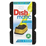Dishmatic Extra Heavy Duty Scourer Refill (3) - Pack of 6
