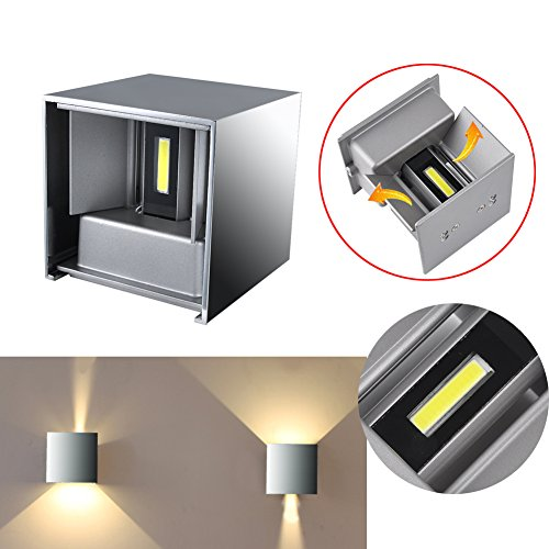 Cube Led Wall Light in Florida - 4