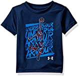 Under Armour boy Baby Graphic SS Tee Shirt, Academy, 18M