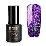 Gel Nail Polish,Lavany® 7ML UV LED Gel Nail Polish Glitter Nail Polish Polish Gel Nail Art for Women (B)