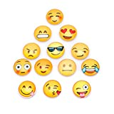 Kofun Magnet Fridge Wall Sticker 13Pcs Emoji Cartoon Expression Merry Christmas Happy New Year Holiday Decal Bedroom Living Room Home Window Decor Vinly Whiteboard Message Holder