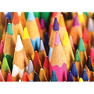 1000 Piece Puzzle for Adults - Pointy Pencils Jigsaw Puzzle - Fun and Challenging