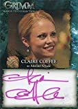 Grimm Season 2 Autograph Card CCA Claire Coffee as Adalind Schade Pink