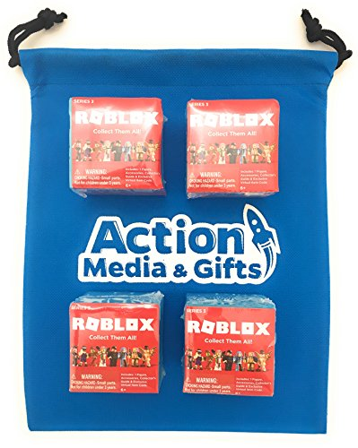 Roblox Mystery Box Series 3 - Roblox Series 3 Action Figure Mystery Box Set Of 4 Bonus