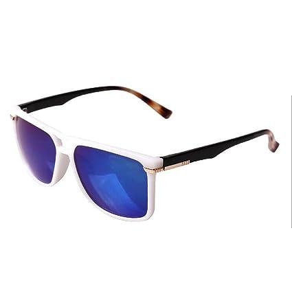 Gafas de sol Gafas de sol polarizadas gafas de sol Mujer Hombre Fondo redondo película de
