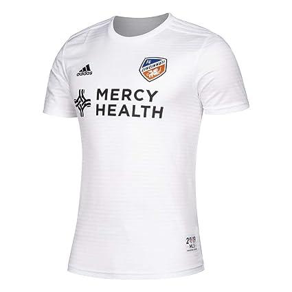 5aedabb1 Amazon.com : adidas Men's FC Cincinnati Replica Jersey 2019 Away Kit ...