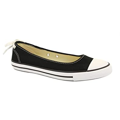 525fb2d01026 Converse Dainty Ballerina Shoes (Black) - 7 UK  Amazon.co.uk  Shoes ...