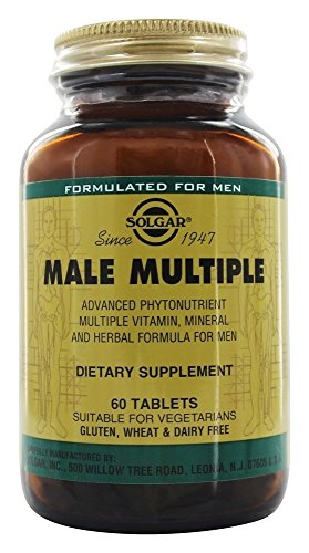 Solgar Male Multiple 60 Tablets product image