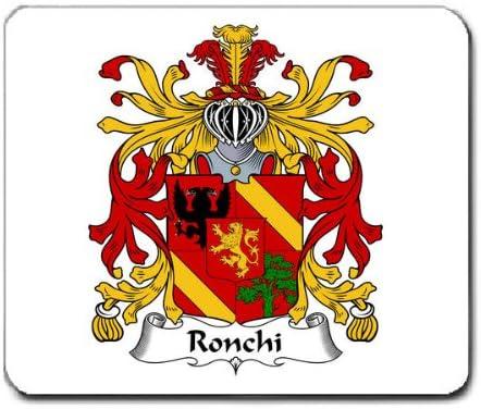 Ronchi familia escudo escudo de armas alfombrilla de ratón: Amazon ...