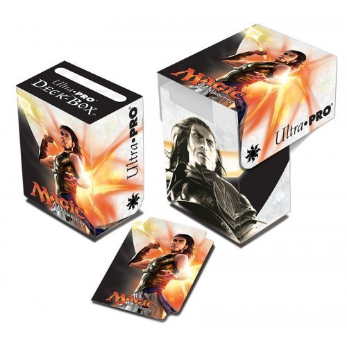 Magic: the Gathering - Origins MTG Magic Origins - Planeswalker Gideon Jura Vertical Deck Box by Magic: the Gathering 918d4a