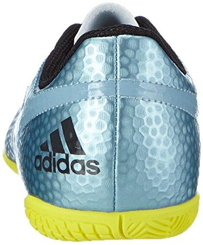 adidas Messi 15.4 In J - Botas para niño Azul / Amarillo / Negro