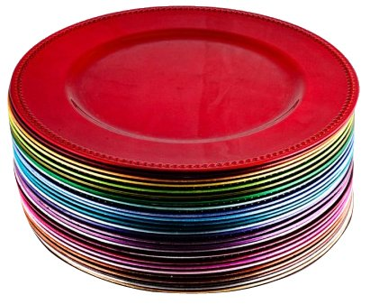 Koyal Charger Plates S&le Pack Set of 28  sc 1 st  Amazon.com & Amazon.com | Koyal Charger Plates Sample Pack Set of 28: Accent Plates