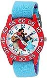 Disney Girl's 'Elena of Avalor' Quartz Plastic and Nylon Watch, Color:Blue (Model: W003032)