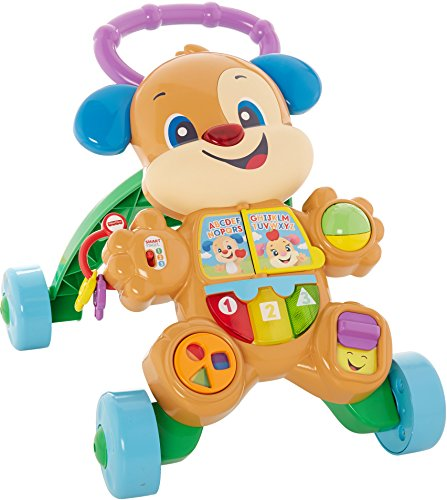 51qV%2BeA4dfL - Fisher-Price Laugh & Learn Smart Stages Learn with Puppy Walker