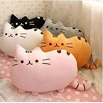 Kawaii Kids Toys Stuffed Animal Doll Peluches Anime Plush Toys Pusheen Cat Pillow For Girl Kid