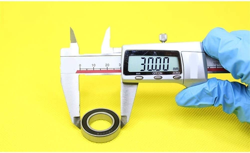 NO-LOGO Durable 6903 Hybrid Ceramic Bearing 17x30x7mm ABEC-1 Bicycle Bottom Brackets Spares 6903RS Si3N4 Ball Bearings 1 PC