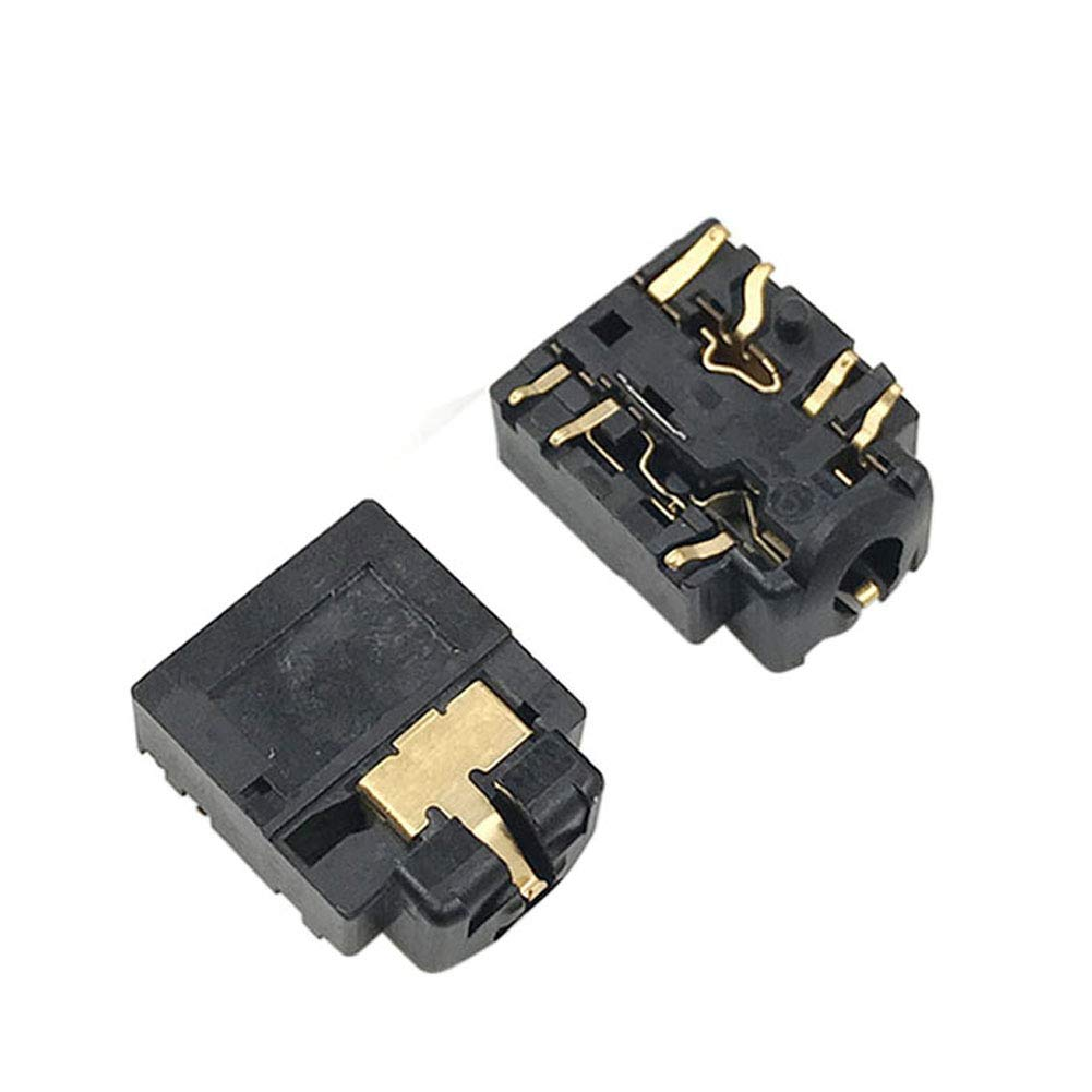Pack of 2pcs Onyehn Replacement Headphone Jack Plug Port 3.5mm Headset Connector Port Socket for Xbox ONE Controller Model 1708 Replacement