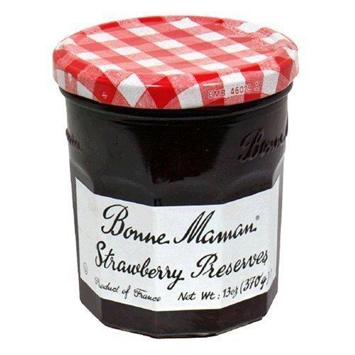 Bonne Maman Strawberry Preserves (Bonne Maman Preserve Strwbry)