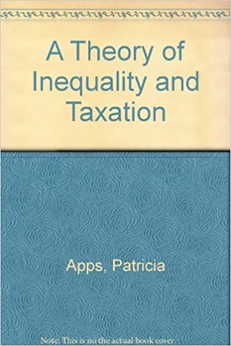 Kostenloser Handy-eBook-Download von mobile9 A Theory of Inequality and Taxation by Patricia Apps PDF ePub MOBI 0521234379