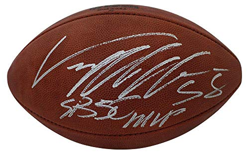 Von Miller Signed Ball - Authentic SB 50 MVP 24208 - JSA Certified - Autographed Footballs ()