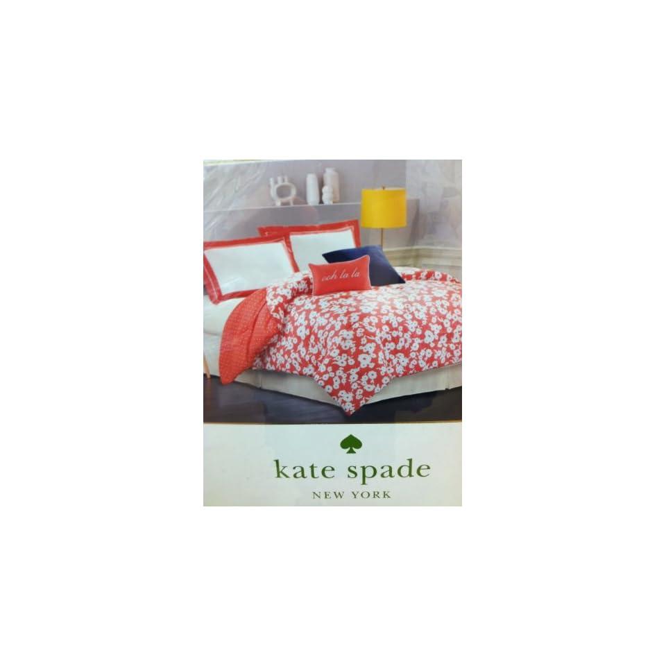 Kate Spade New York Mixed Petal Queen Comforter + 2 Shams