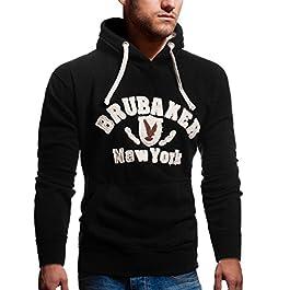 Brubaker–sudadera con capucha, para hombre, sudadera con capucha, de N. Y., con águila