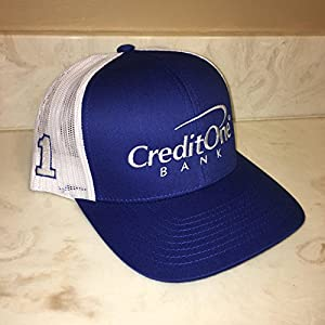 NEW 2017 Jamie McMurray 5.11 Nascar Team Issued Hat Cap Credit One Bank Ganassi Racing