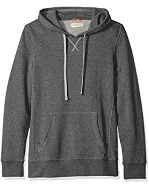 Men's French Terry Long Sleeve Hoodie Top