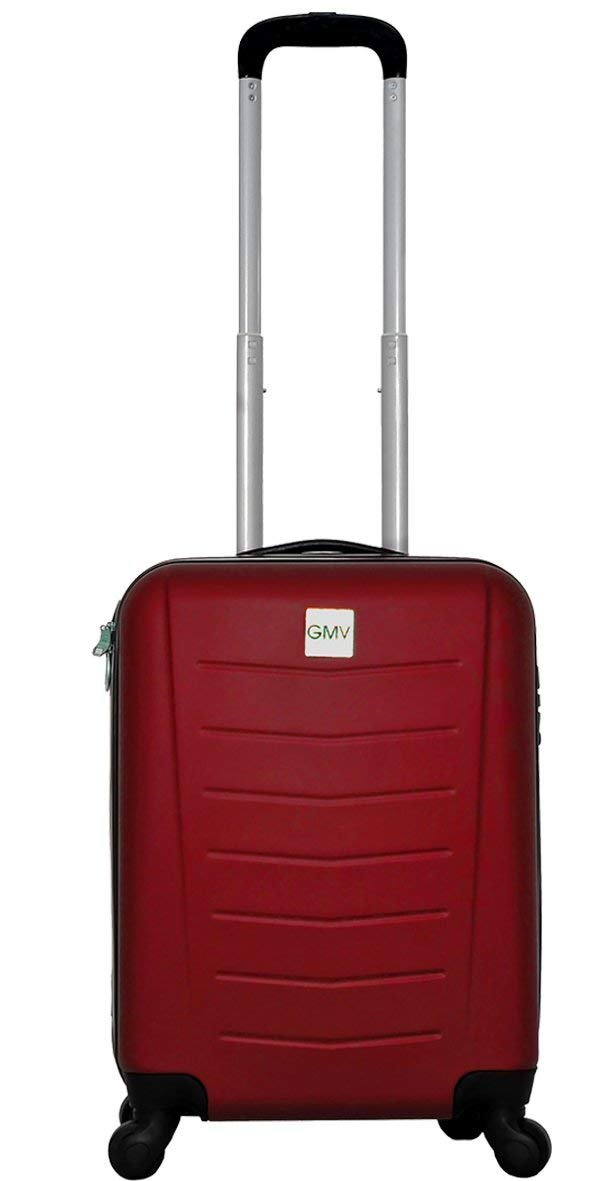 Chariot Cabine Valise Hand Dur Bagages Cabine Size GianMarcoVenturi 004_(Argent) FMXD004