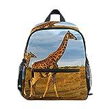 Cooper girl Africa Giraffe Kids Backpack School Bookbag for Girls Boys Toddler