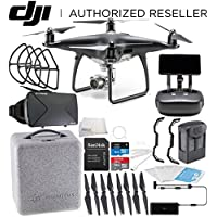 DJI Phantom 4 PRO+ PLUS Obsidian Edition Drone Quadcopter Includes Display (Black) Virtual Reality Experience VR Starters Bundle