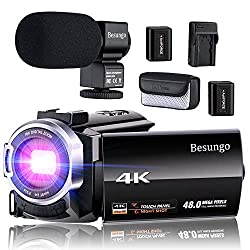 Image of the product 4K Camcorder Video Camera that is listed on the catalogue brand of Besungo.