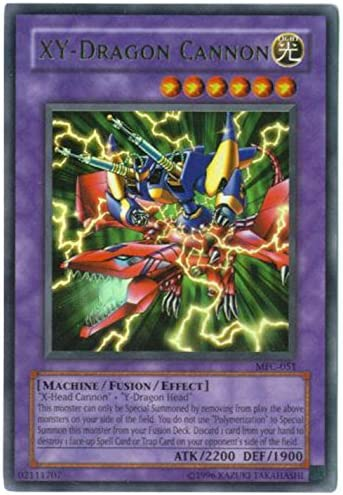 Amazon.com: Yu-Gi-Oh! - XY-Dragon Cannon (MFC-051) - Magicians Force -  Unlimited Edition - Ultra Rare: Toys & Games