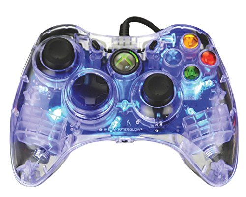 Afterglow Wired Controller for Xbox 360 - Blue (Xbox Gaming 360 Camera)