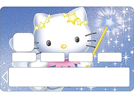 Sticker for credit card Hello Kitty
