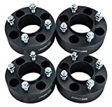 4pcs 2'' 4/110 4x110 ATV Wheel Spacers for Honda Polaris Kawasaki Yamaha Rhino Grizzly Suzuki (Black)