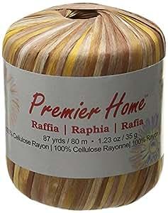 Premier Yarns Raffia Multis Yarn, Hollow Reeds