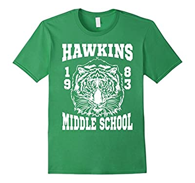 Hawkins Middle School 1983 Funny T-Shirt Stranger of Things