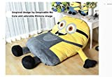 Funny Despicable Me Minions Sleeping Bag Sofa Bed Twin Bed Double Bed Mattress for Kids-ship By Express Shippment DHL