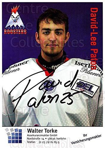 (CI) David-Lee Paton Hockey Card 2003-04 German Iserlohn Roosters Postcards 18 David-Lee Paton ()