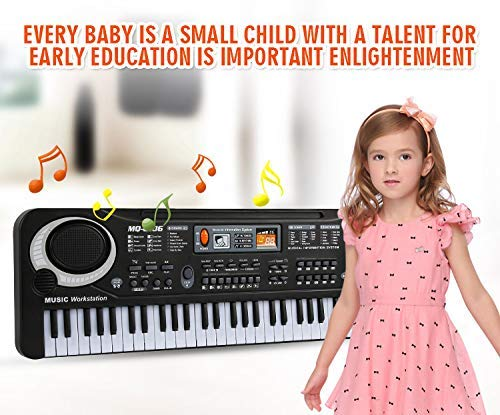 JSLY HOT Pianos Electricos Profesionales para Niños Niñas 61 Keys,Electronic by JSLY