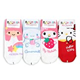 Crayon Shin Chan Licensed Socks With INTYPE Pouch (US 6-8.5) (S_lowcut(HQA) 4pairs)