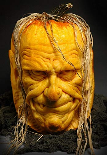 Home Comforts Laminated Poster Pumpkin Halloween Sculpted Vivid