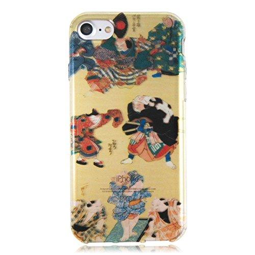 iPhone7 Kuniyoshi Cat japanese style Ukiyo e Kabuki