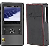 Cayin N3 DAP, Master Quality Digital Audio Player (Black) with Leather Case