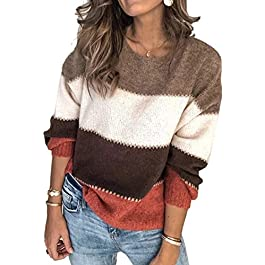 Women's Sweater Casual  Pullover Knit Top